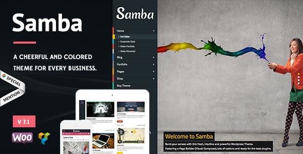 Samba 7.0 скачать бесплатно водпресс